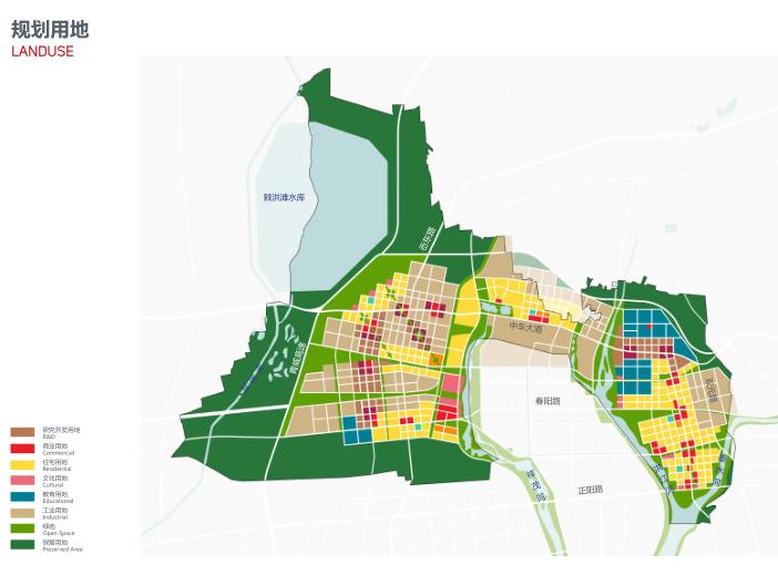世界动车小镇国家创新中心概念规划城市设计-规划用地