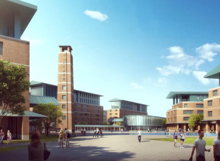 中山大学深圳建设工程总体规划建筑设计2016-效果图4