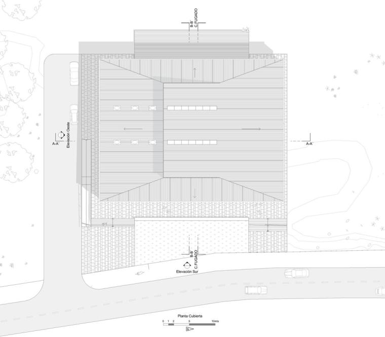 智利14K大楼平面图1