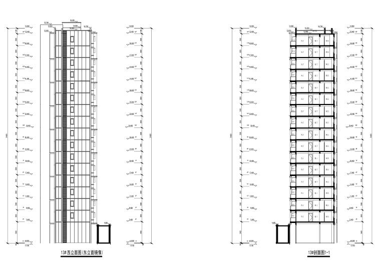 上海徐泾镇装配式高层住宅建筑方案设计文本-技术图纸