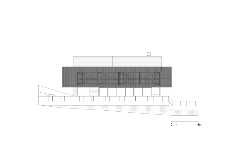 巴西daMata住宅-巴西da Mata住宅立面图1