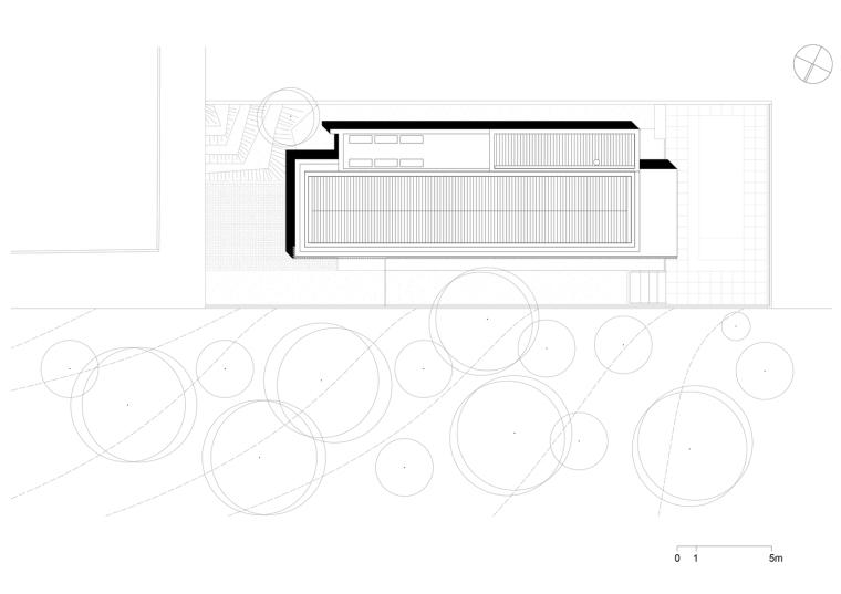 巴西daMata住宅-巴西da Mata住宅平面图