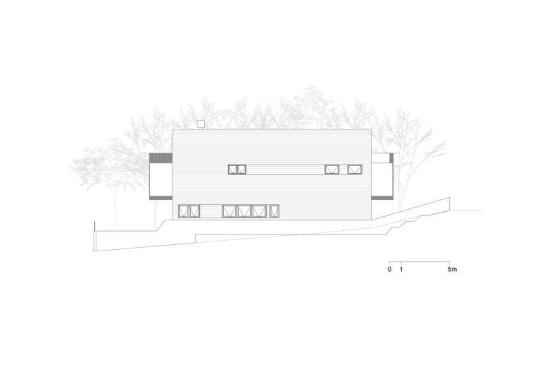 巴西daMata住宅-巴西da Mata住宅立面图2