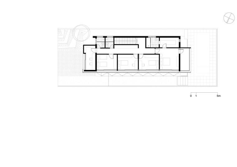 巴西daMata住宅-巴西da Mata住宅平面图2
