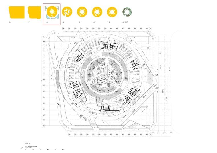 宁波太平鸟时尚中心平面图1