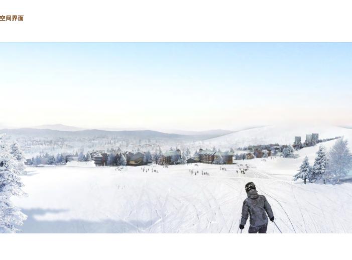 [吉林]松花湖度假村联排别墅区规划设计文本-效果图1