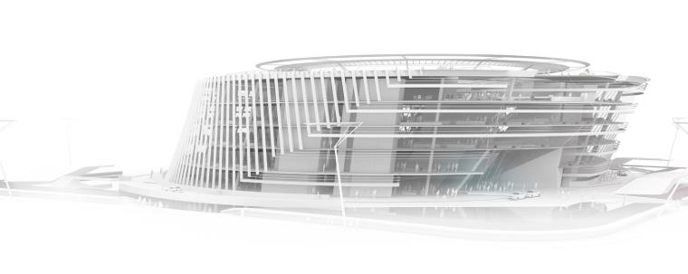 宁波太平鸟时尚中心模型图1