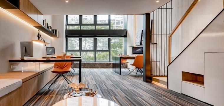 昆明海伦堡昆海办公室空间室内实景图1