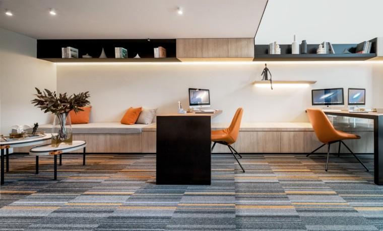 昆明海伦堡昆海办公室空间室内实景图2