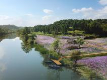 [四川]生态绿廊水系治理旅游休闲景观方案