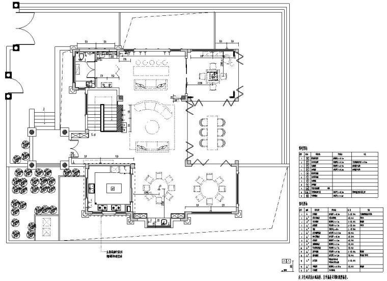 北纬18°现代风900㎡别墅住宅装修施工图设计-插座布置图