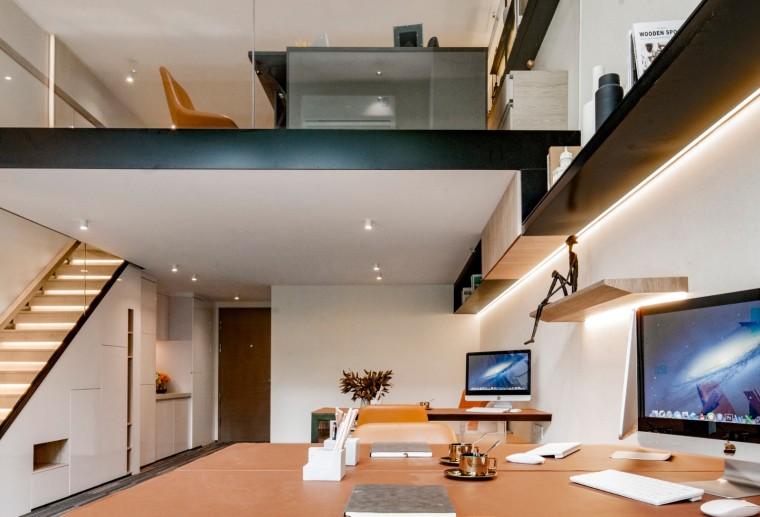 昆明海伦堡昆海办公室空间室内实景图10
