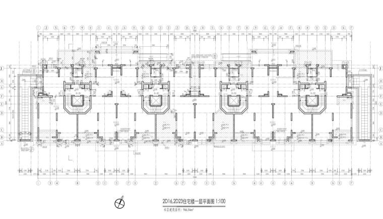 康桥水都三居室高层建筑户型图设计 (4)