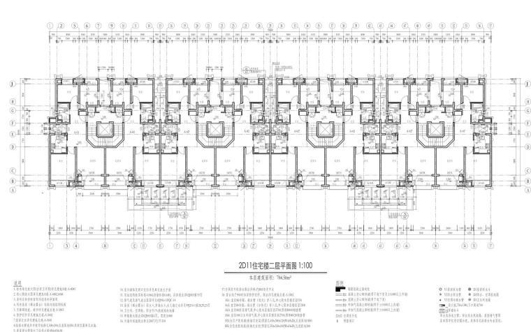 康桥水都三居室高层建筑户型图设计 (5)