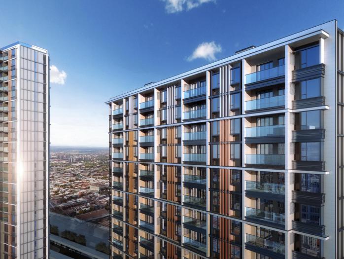 上海徐泾镇装配式高层住宅建筑方案设计文本-住宅透视图