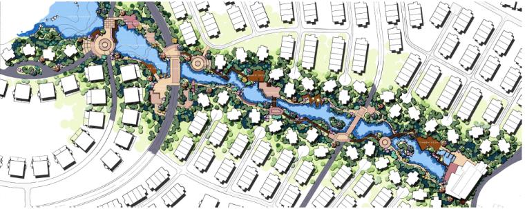 [广东]惠州英伦风格特色小镇景观概念规划-第三圆舞曲平面图