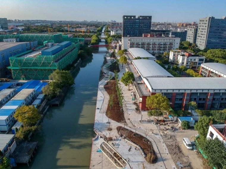 上海闵行东岸滨水景观实景图2_副本