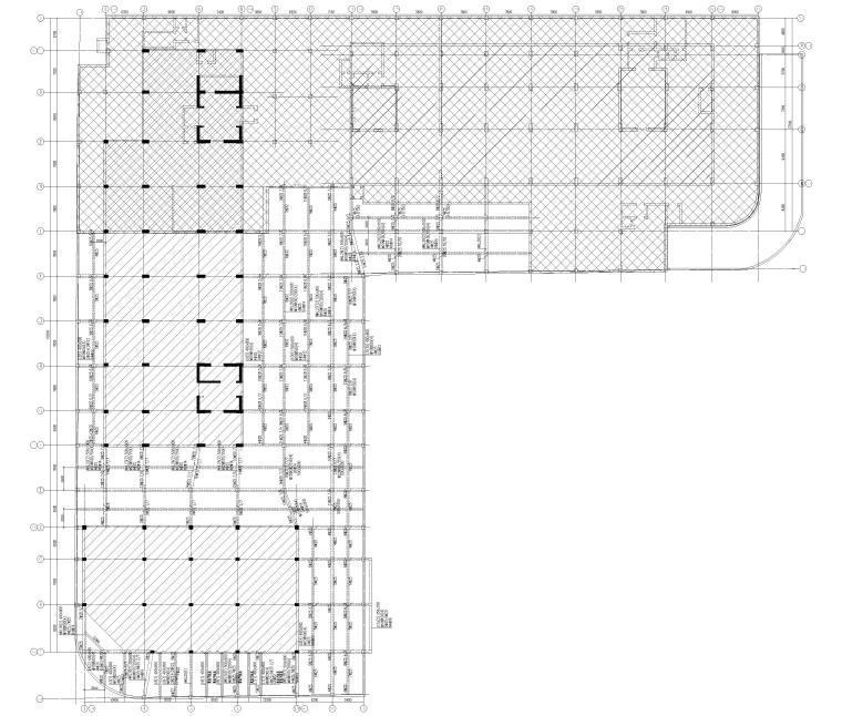 [上海]单层框架结构地下车库全套图纸2017-梁平法施工图