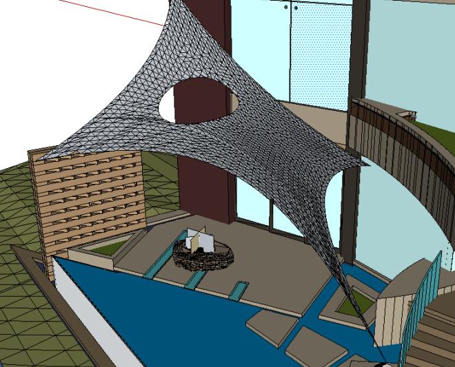 Revit软件技巧1.10.1薄膜结构的生成
