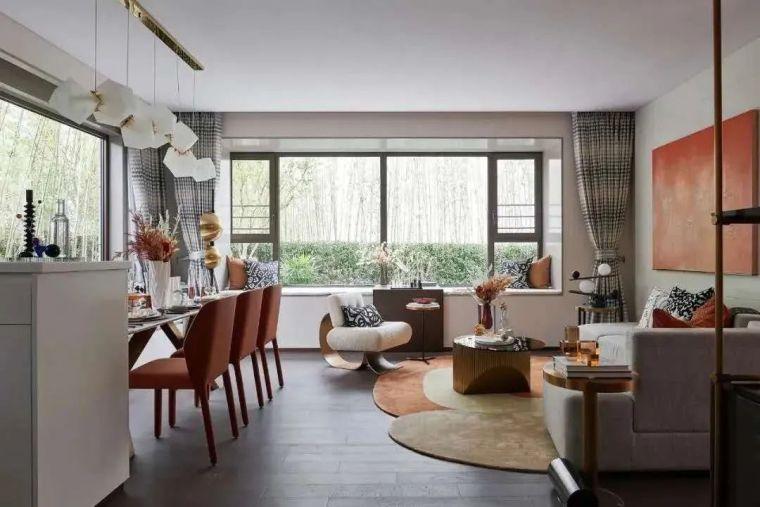 现代时光里的永恒和诗意的住宅样板间室内实景图7