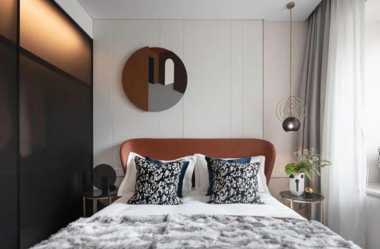 现代时光里的永恒和诗意的住宅样板间室内实景图15