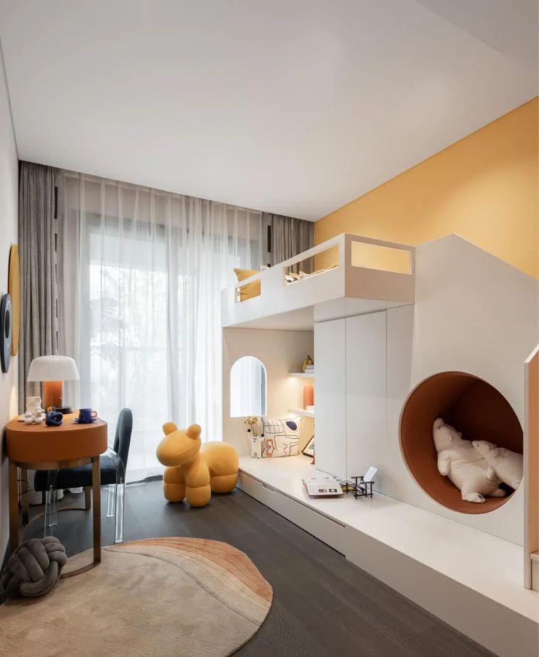现代时光里的永恒和诗意的住宅样板间室内实景图17