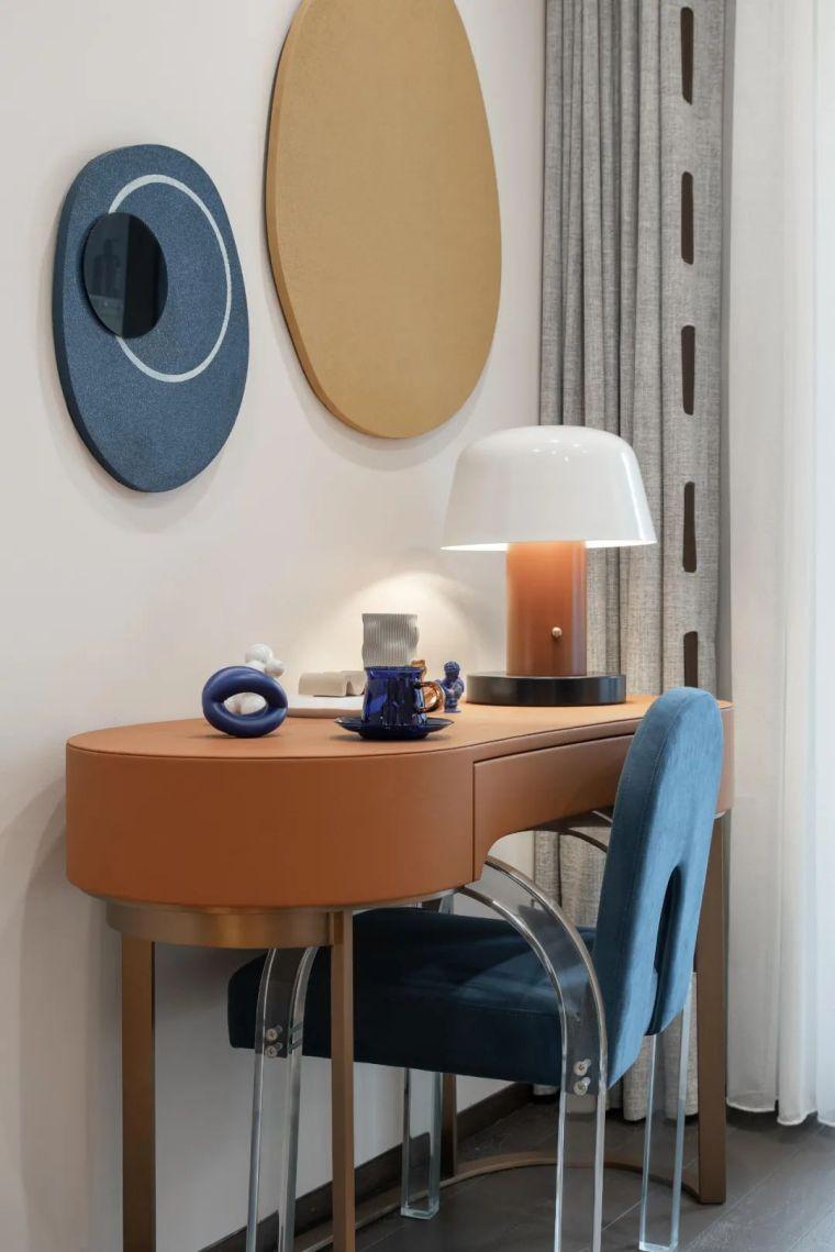 现代时光里的永恒和诗意的住宅样板间室内实景图18