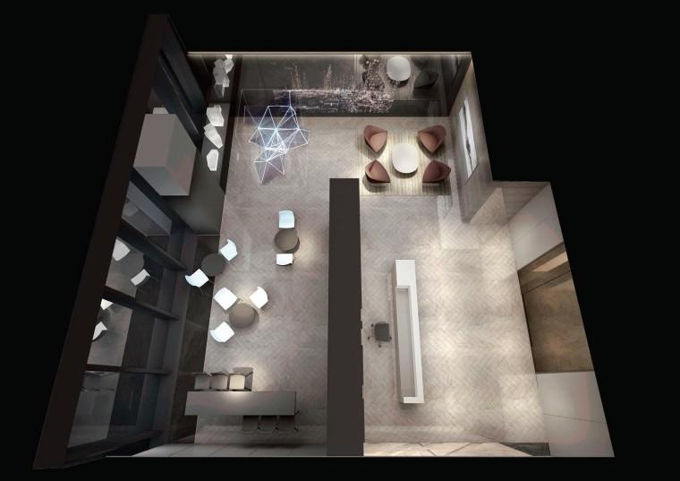 [北京]众美集团总部新办公室装修设计施工图-效果图 (1)
