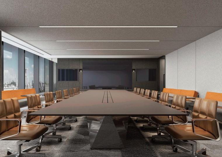 [北京]众美集团总部新办公室装修设计施工图-效果图 (3)
