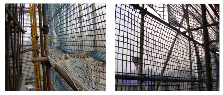 标化现场及市级文明工地策划实施方案-06 大网眼水平安全网