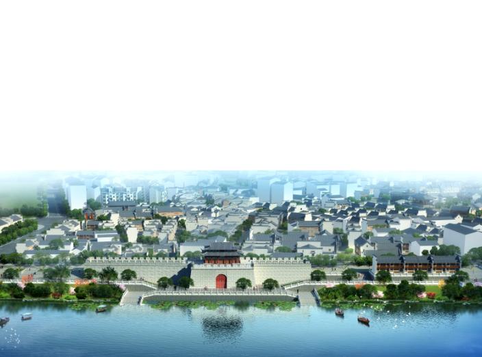 湖南新化梅山古镇保护与开发修建性详细规划-效果图3