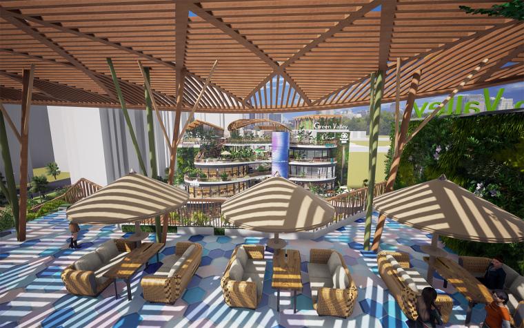 [生态情景式购物公园]鸣翠谷购物公园设计-07