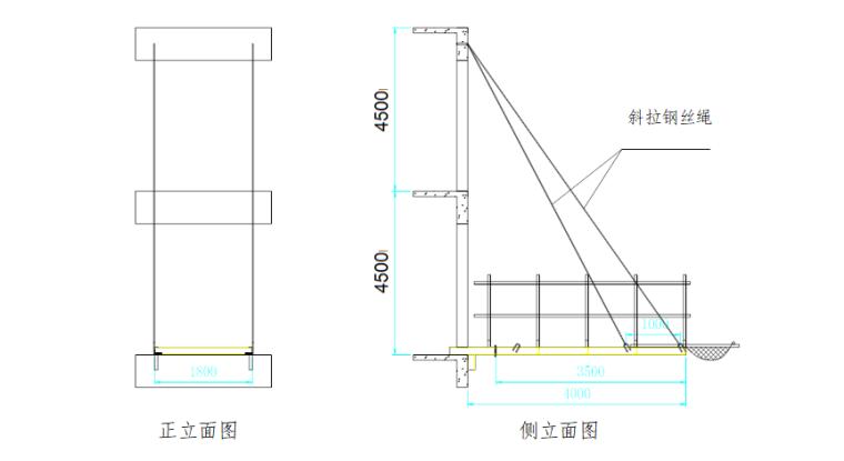 36层住宅楼附着式升降脚手架专项施工方案-03 卸料平台搭设