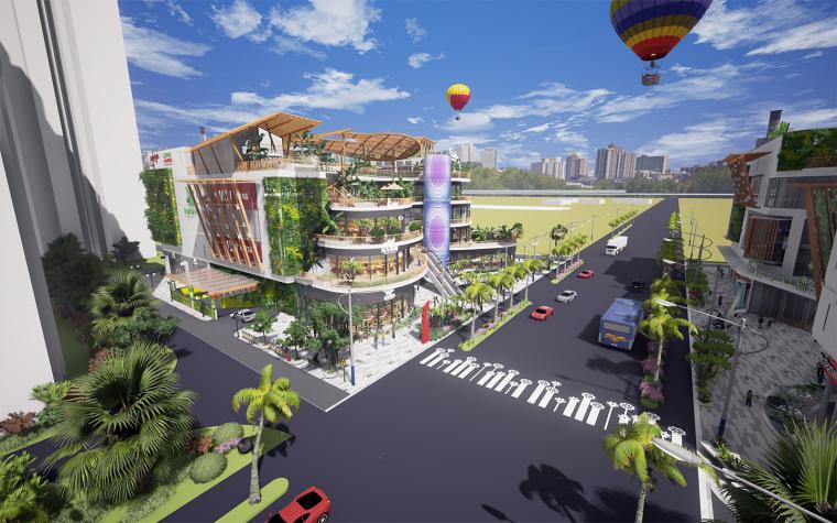 [生态情景式购物公园]鸣翠谷购物公园设计-09