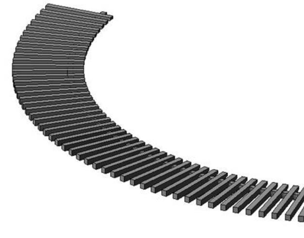 Revit软件技巧1.9.1用扶手命令创建墙饰条