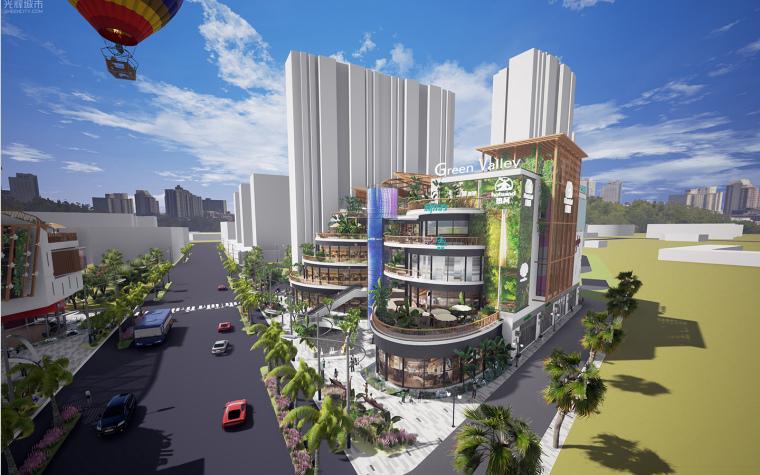 [生态情景式购物公园]鸣翠谷购物公园设计-12