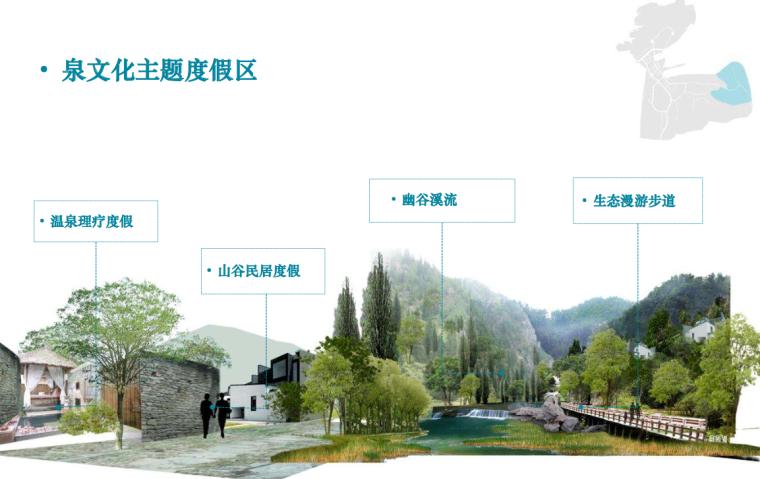[山东]济南泉城特色风貌旅游城镇概念规划-泉文化主题度假区