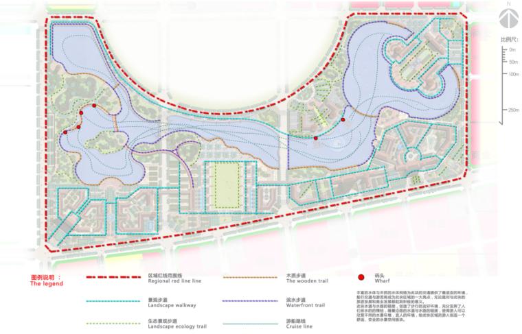 [河南]商丘临湖商业文化公园景观方案-步道分析