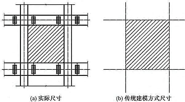 苏州现代传媒广场新型钢结构技术研究与应用-传统建模方式