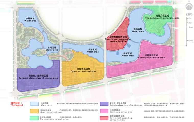 [河南]商丘临湖商业文化公园景观方案-功能分区