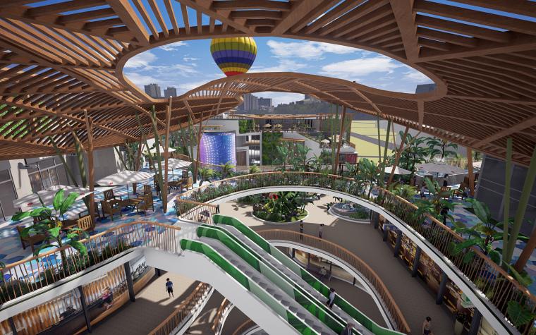 [生态情景式购物公园]鸣翠谷购物公园设计-15