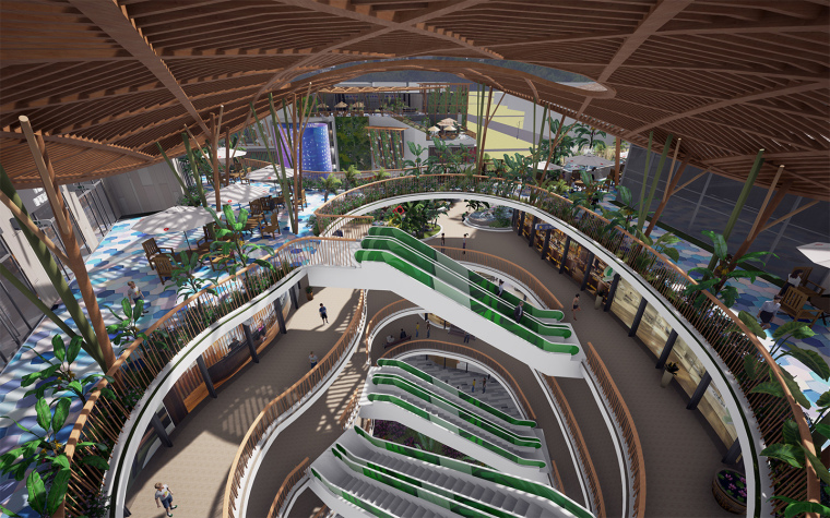 [生态情景式购物公园]鸣翠谷购物公园设计-16