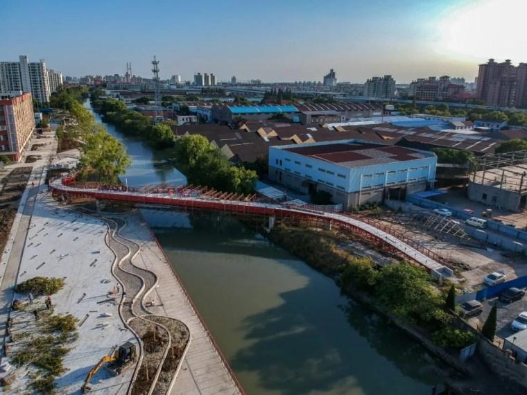 上海闵行东岸滨水景观实景图1_副本