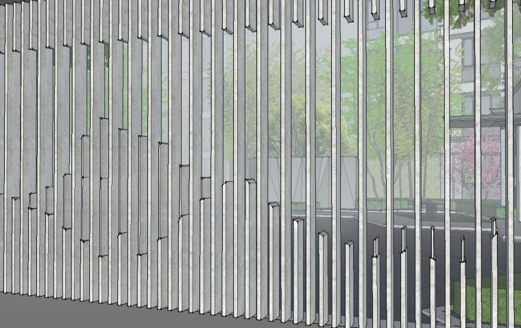 [福建]知名企业春江郦城示范区景观模型-知名企业春江郦城示范区景观模型 (6)