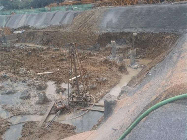 基坑土方开挖降水及护坡方案-基坑降水