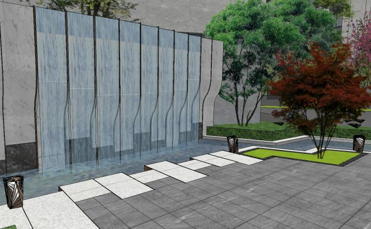 [福建]知名企业春江郦城示范区景观模型-知名企业春江郦城示范区景观模型 (10)