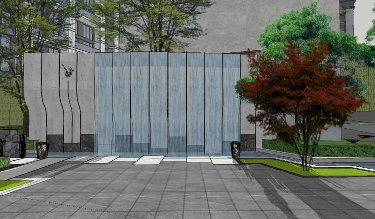 [福建]知名企业春江郦城示范区景观模型-知名企业春江郦城示范区景观模型 (9)