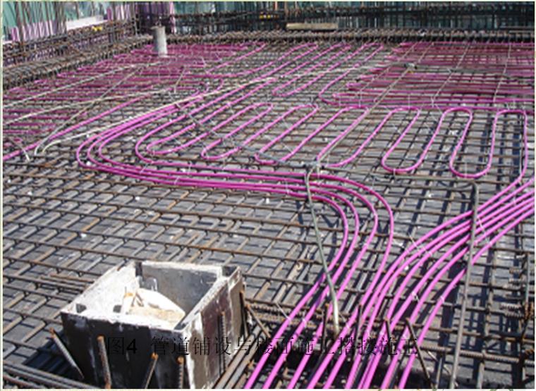 工程质量审计——苏通大桥质量管理案例分析-图4 管道铺设与楼面施工搭接施工