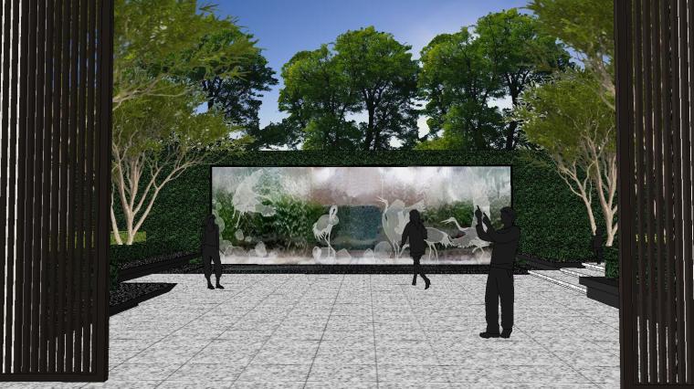 [重庆]知名企业椿山现代示范区景观模型-龙湖椿山现代风格示范区景观模型设计 (8)