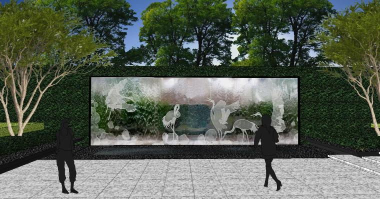 [重庆]知名企业椿山现代示范区景观模型-龙湖椿山现代风格示范区景观模型设计 (9)